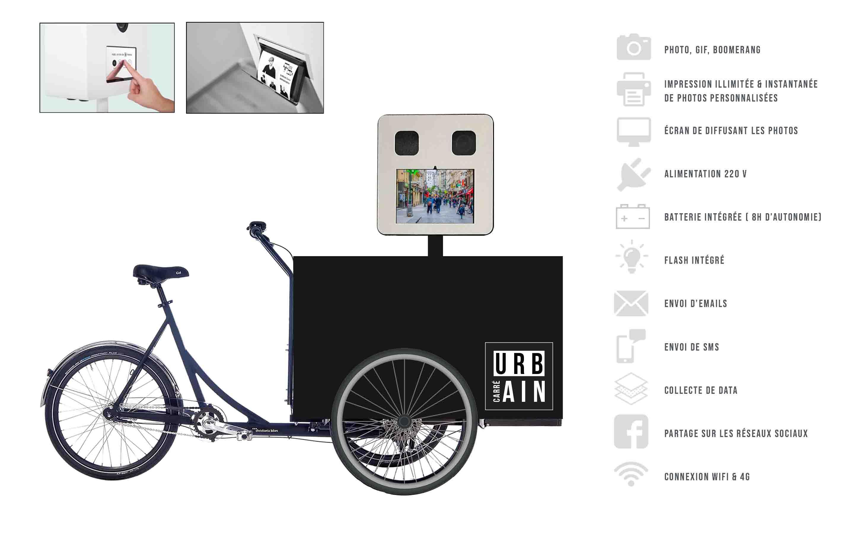 Photobooth street marketing