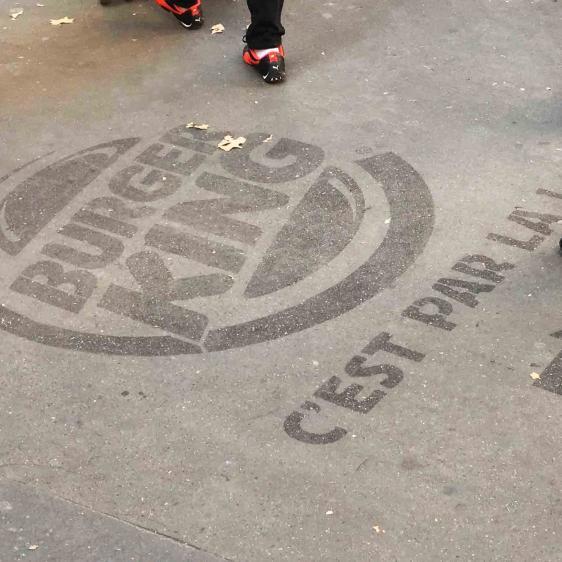 CleanTag BurgerKing Paris