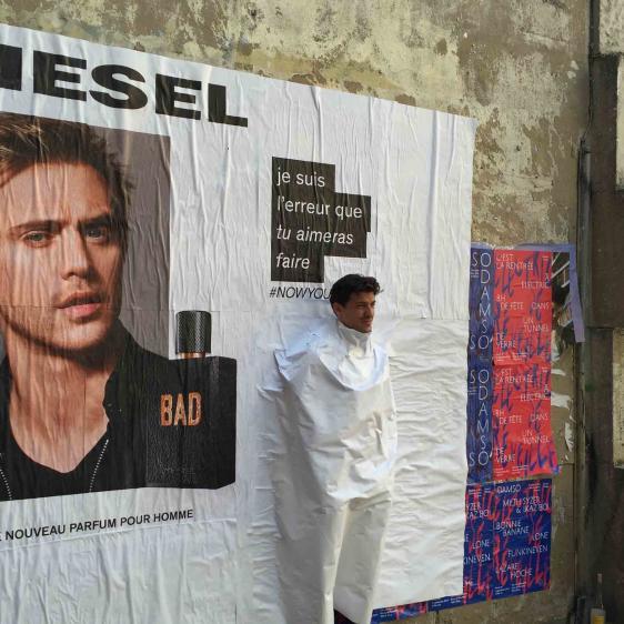 Street marketing Diesel