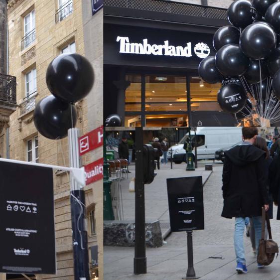 Opération de street-marketing pour un lancement de produit