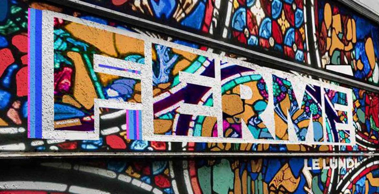 Fresque murale permanente