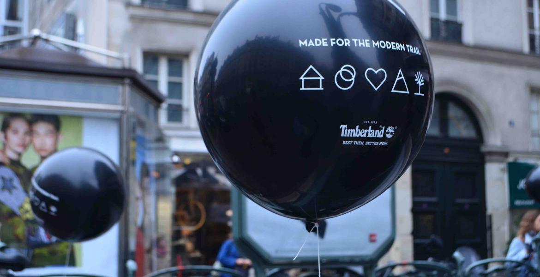 Street-Marketing Ballon