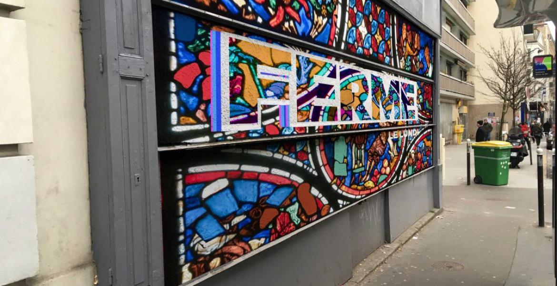 personnalisation street-art de boutique