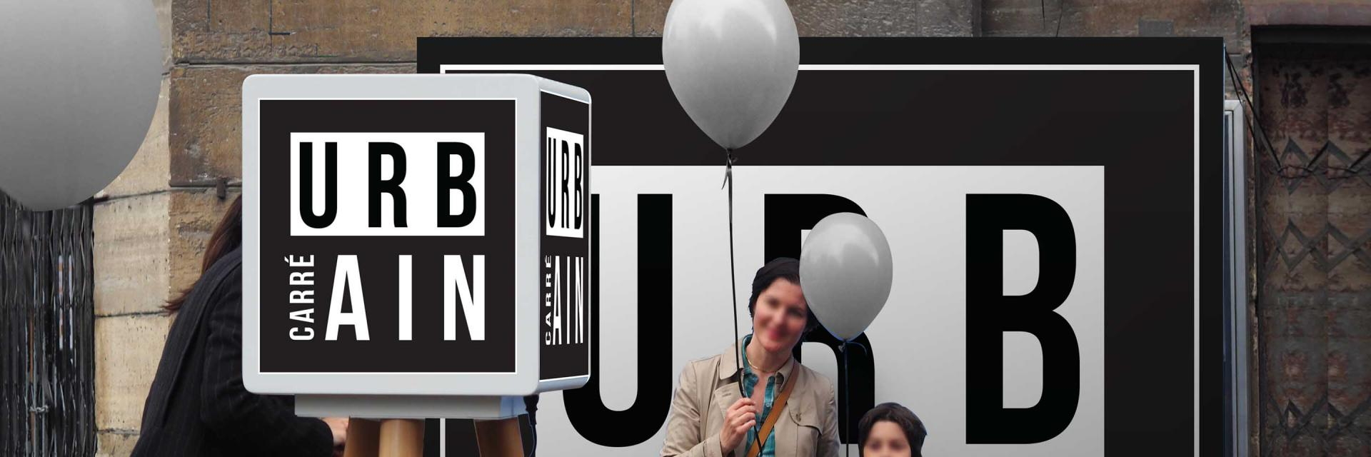 Street marketing photo booth