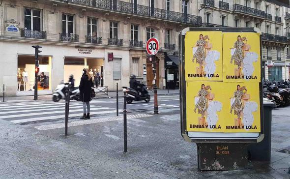 Affichage libre dans les rue de Paris