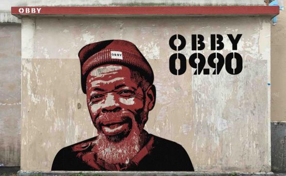 Street-art marketing OBBY