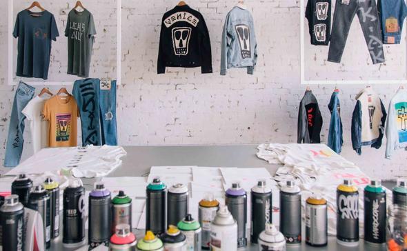 Atelier pop up store