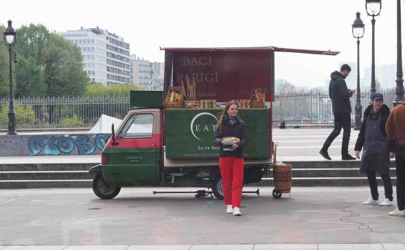 Streetmarketing Roadshow Paris
