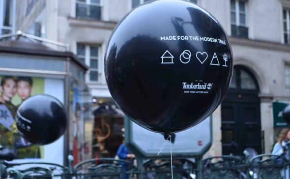 Street-Marketing Ballon