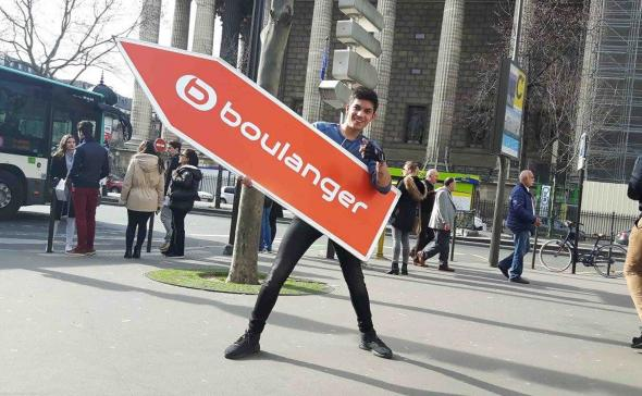 Street-marketing boulanger