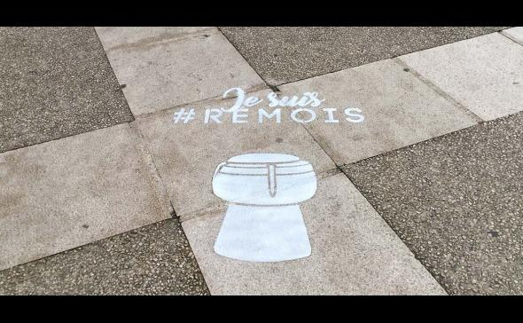 Marquage au sol à Reims