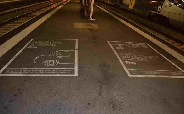 Clean-Tag craie Gare de lille