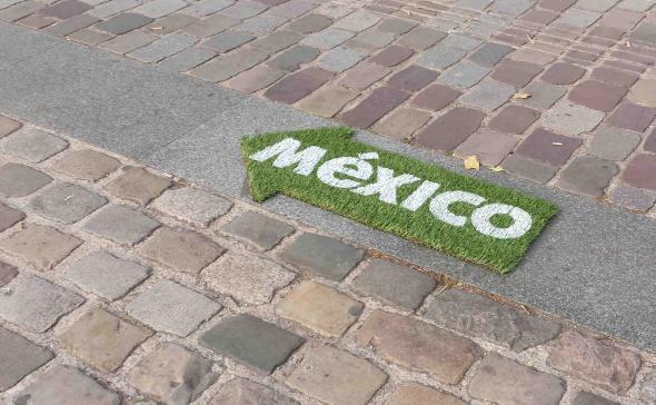 Du street-marketing à base de green-tag pour l'évènement México