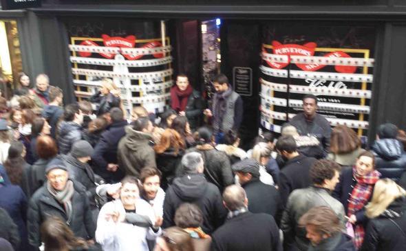 Street-marketing ouverture de boutique Paris