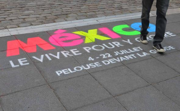 clean-Tag craie pour Mexico