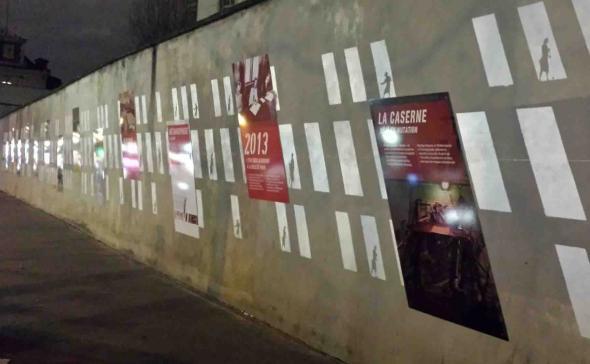 Fresque murale pour Paris Habitat