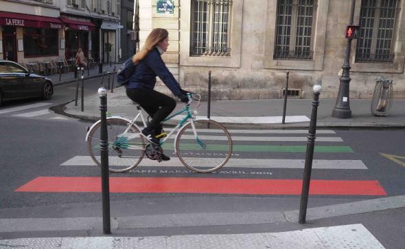 Custo d'un passage piéton Paris.