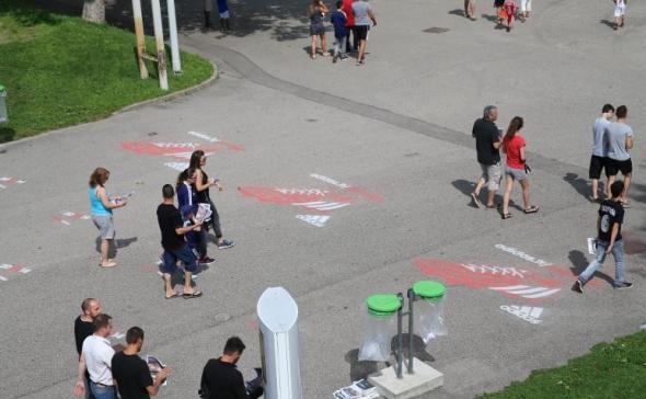 Paint-Tag Olympique Lyonnais