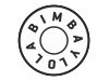 Logo bimba y Lola street-marketing Affichage